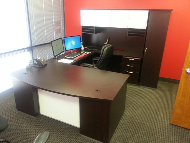 InYourOffice delivers a really nice Executive U-Shape!