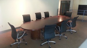 12 ft. Kent Conference Table - Medium Cherry