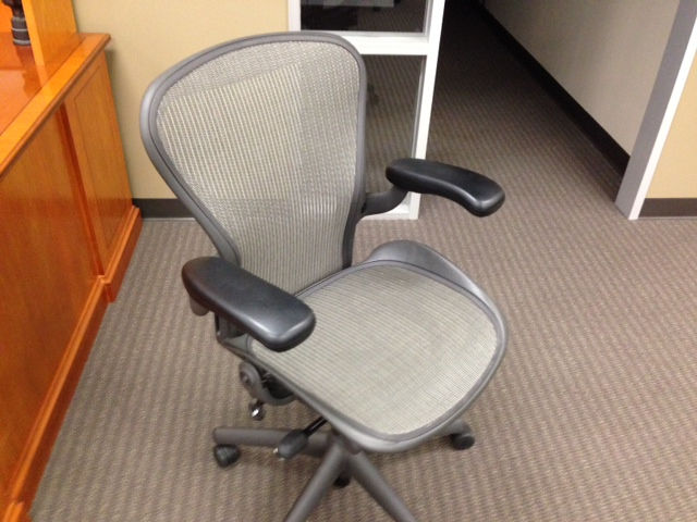 Herman Miller AERON 'B'  Graphite Black  $499.00 or 'New Style' Neutral Mesh $599.00